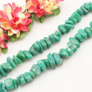 Beads, Gemstone, Amazonite, Turquoise colour, designer shapes, Diameter 10mm, 40cm strand, (SJZ0083)